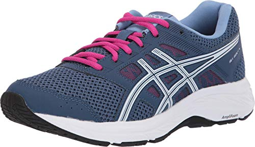 ASICS - Womens Gel-Contend 5 (D) Shoes, 3.5 C/D UK, Grand Shark/White