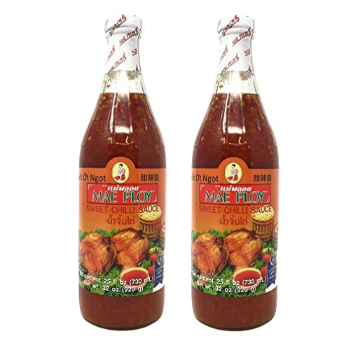 Mae Ploy Sweet Chilli Sauce 25fl.oz, 2 Pack