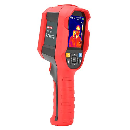 UNI-T Infrared Thermal Imager Imaging Camera Photographed Tester with PC Software Analysis Type-C USB Interface (UTi165H)