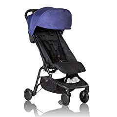 Infant car seat ready ; no need to purchase additional adapters and now has a soft shell cocoon carrycot available (sold separately) for newborns New, narrower compact size at just Dimension - 12 x 22 x 20 inches (Folded) with 44 lb. weight capacity ...