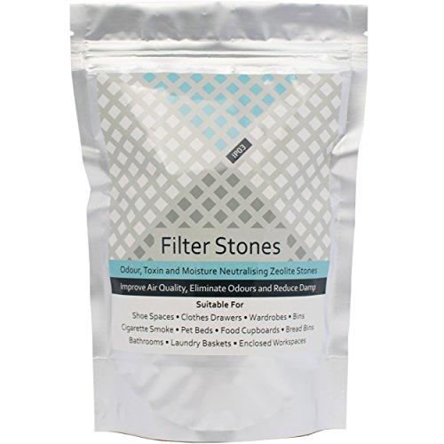Zeolite Rocks - Piedras neutralizadoras de olores (500 g) para Eliminar olores de Gatos y Perros, desodorizador Natural, eliminador de Humedad