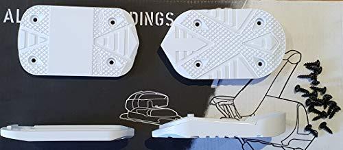 Head - Plantilla para botas de esquí, diseño de cubo de sueño, color blanco