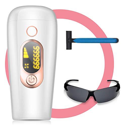 Haarentfernungsgerät Laser haarentfernung,IPL Haarentfernungsgeräte - permanente Haarentfernung, Geeignet für Körper und Gesicht