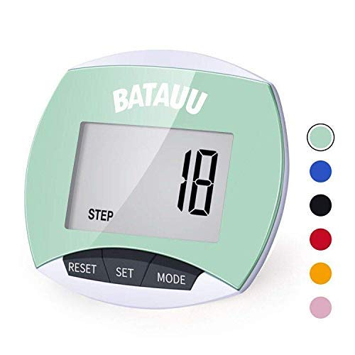 Best Deals! BATAUU Best Pedometer, Simply Operation Walking Running Pedometer with Calories Burned a...