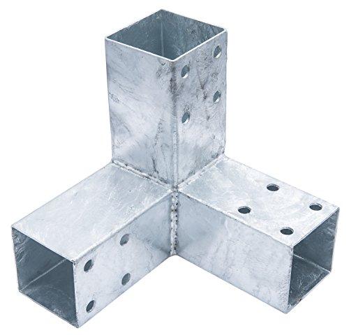 Connex HV4247 Pfostenecke, 200 x 185 x 185 mm, für 71 x 71 mm Holz