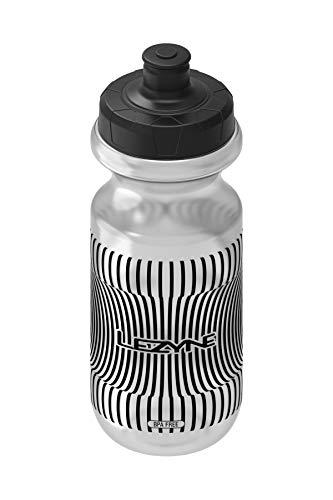 Lezyne Flow Bottle 600 - Borraccia per bicicletta, 600 ml, senza BPA, unisex, per adulti, Foggy Clear, taglia unica