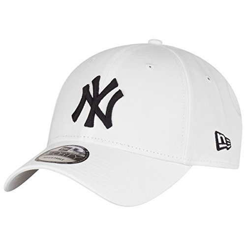 New Era 9Forty Cap - New York Yankees weiß/schwarz