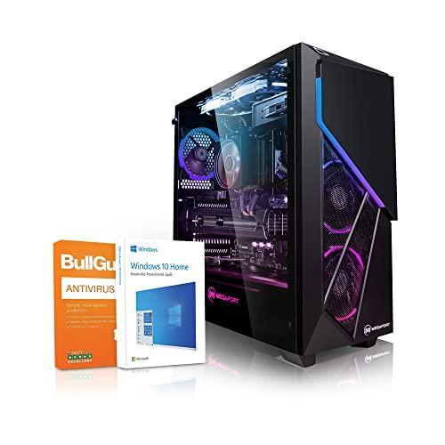 PC Gaming - Megaport Ordenador Gaming PC AMD Ryzen 7 2700X • GeForce RTX2060 Super 8GB • 1000GB HDD • 480GB SSD • 16GB DDR4 2400 • WLAN • Windows 10 • PC Gamer • Ordenador de sobremesa