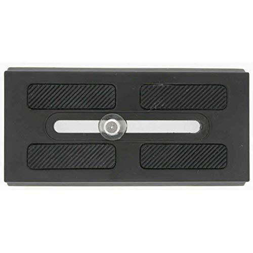 Benro QR25 - Placa Quick Release para trípode KH25, Color Negro
