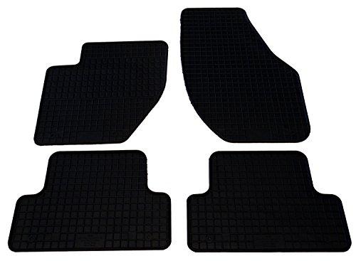 Auto Matten Hervorragende Velours Qualit/ät mit Logo Set 4-teilig schwarz//anthrazit Rutschfest Modell siehe Details passgenau
