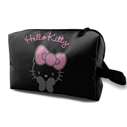 Hello Kitty - Bolsa de cosméticos para mujer de gran capaci