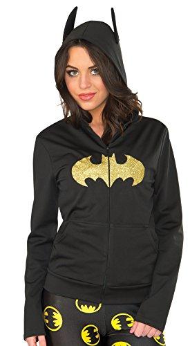 Rubie's Costume Co Women's Hoodie, Batgirl, Small/Medium