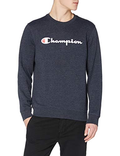 Champion Man - Classic Logo Sweatshirt - Blue, L