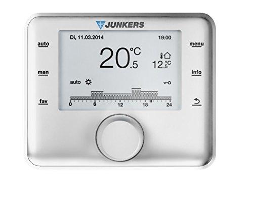 Witterungsgeführte Steuerung Junkers CW 400 Regelung mit Außenfühler 2 bis 4 Heizkreise
