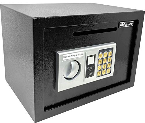 Digital Electronic Cash Drop Cash Deposit Safe for Retail Businesses Security Vault Box Depository Safe Slot Slotted Safe