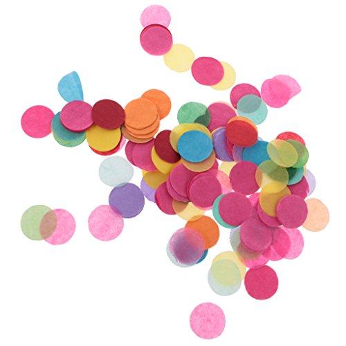 Gazechimp 1000 piezas de Papel Colorido de Mesa de Confeti Decoración Boda de Lanzar Confeti Partido de Decor