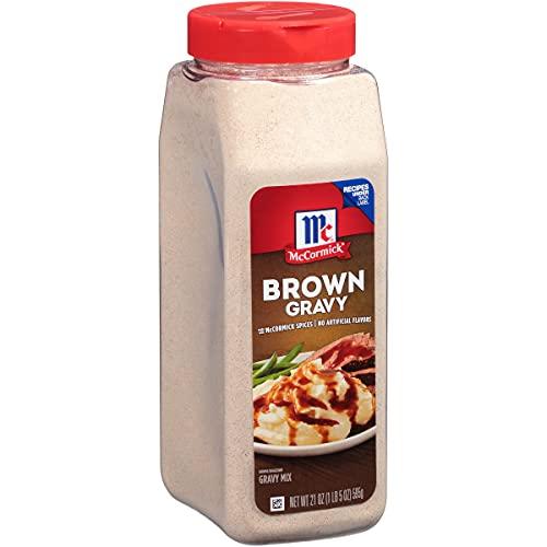 McCormick Brown Gravy Mix, 21 oz