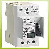 Siemens 5SM3314-6 - Interruptor diferencial 70 clase-a 2 módulos 2 polos 40a 30ma