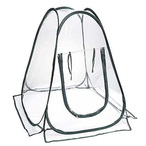 CSYP Mini Greenhouse Kit-Portable greenhouse kit for outdoor and indoor use in garden greenhouse plants, detachable