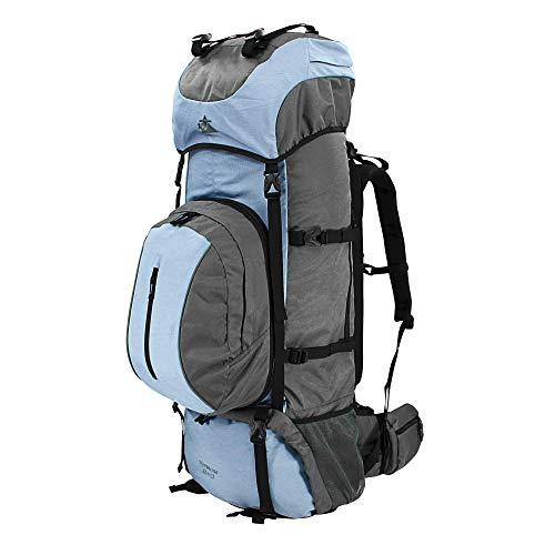 10T Outdoor Equipment Northcote 85+15 Sac marin, 95 cm, 100 liters, Bleu (Blau / Grau)