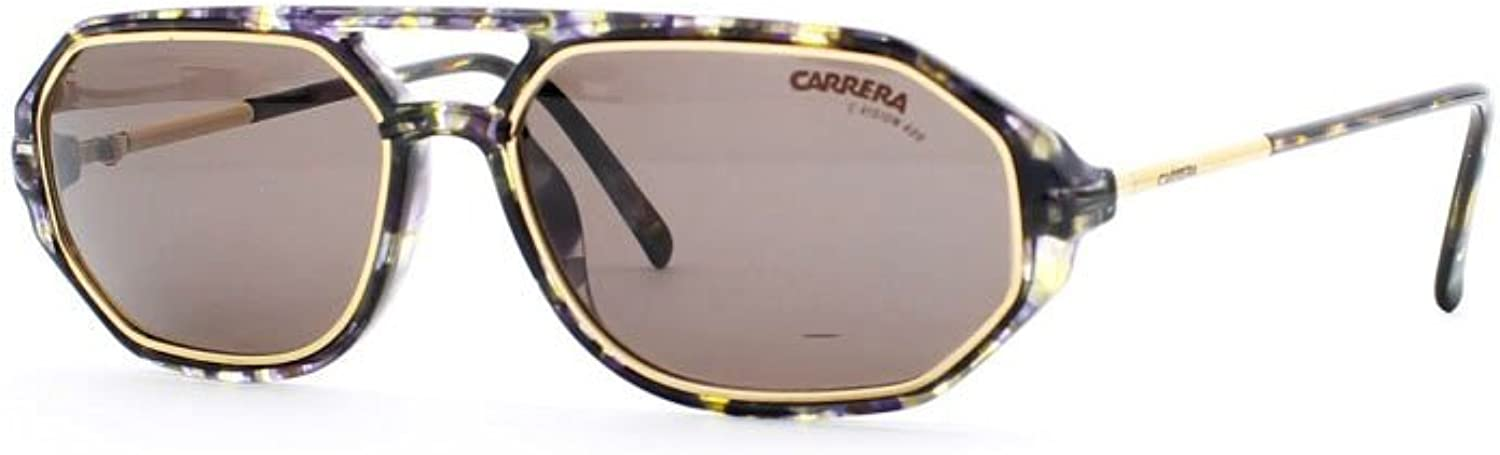Carrera 5494 21 gold and Grey Authentic Men  Women Vintage Sunglasses