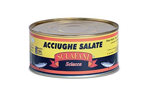 Acciughe Salate di Sciacca 100% artigianali 1 Kg.