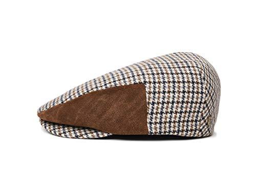 BRIXTON Hooligan II SNAP Cap Headwear, Vanille/Braun, M