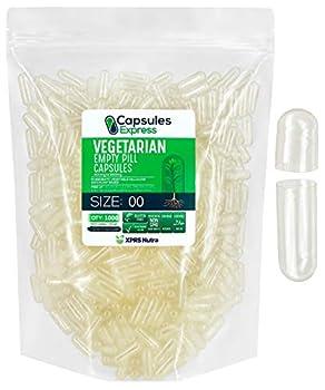 Best size 00 vegetarian capsules Reviews