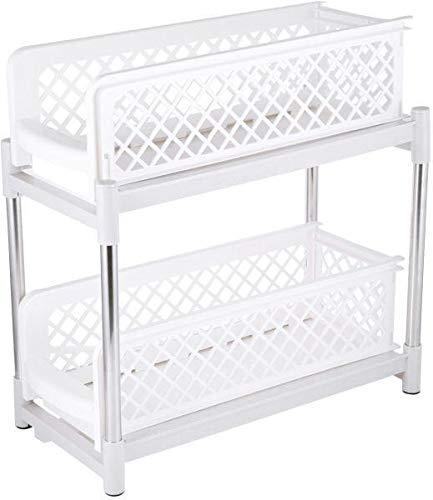 Under Sink Cabinet Sliding Basket Shelves Organizer Drawer