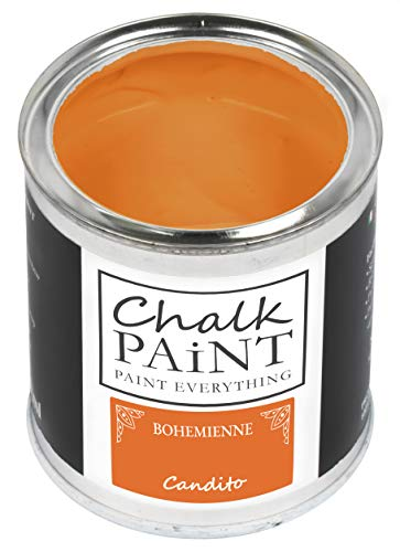Everything CHALK PAINT BOHEMIENNE Candito 250 ml - SENZA CARTEGGIARE Colora Facilmente Tutti i Materiali