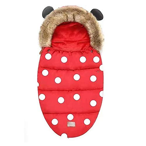 DXQDXQ Anti Kick Pram Footmuffs Universal Cosy Toes Footmuff Bunting Bags Winter Warm Waterproof Suitable for All Pushchairs Strollers Prams Buggy Car Seat Blankets (Color : B)
