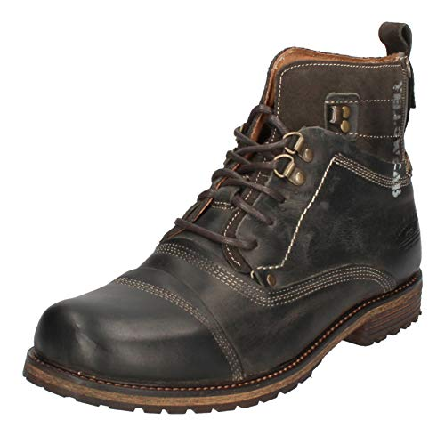 Yellow Cab Schuhe reduziert - Boots Soldier - 15105 Grey, Größe:41 EU