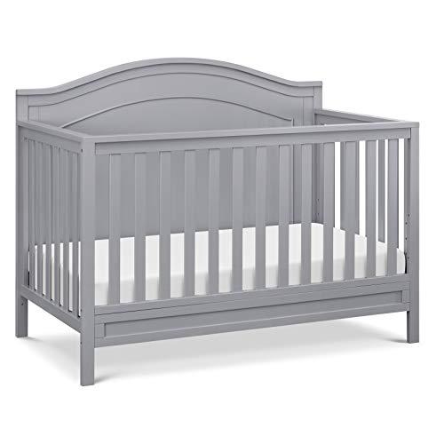 da vinci cribs DaVinci Charlie 4-in-1 Convertible Crib in Grey, Greenguard Gold Certified