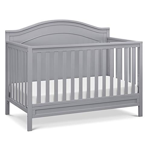 DaVinci Charlie 4-in-1 Convertible Crib in Grey, Greenguard Gold Certified