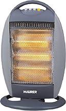 Estufa eléctrica halógena oscilante Amorgos Maurer 400 – 1200 W
