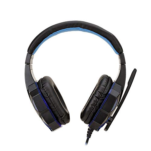 IBISHITAOXUNBAIHUOD Auricolare controllo SY830MV 7.1 Channel Stereo Gaming Headset USB staccabile