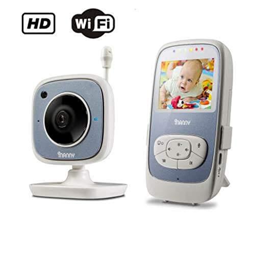 Inanny N30 Babyfon mit 1,5-Zoll-LCD-Bildschirm, digitale Übertragung, hochempfindliches Mikrofon