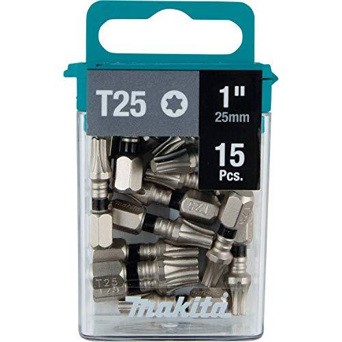 Makita E-00686 Impact XPS T25 Torx 1' Insert Bit, 15/pk
