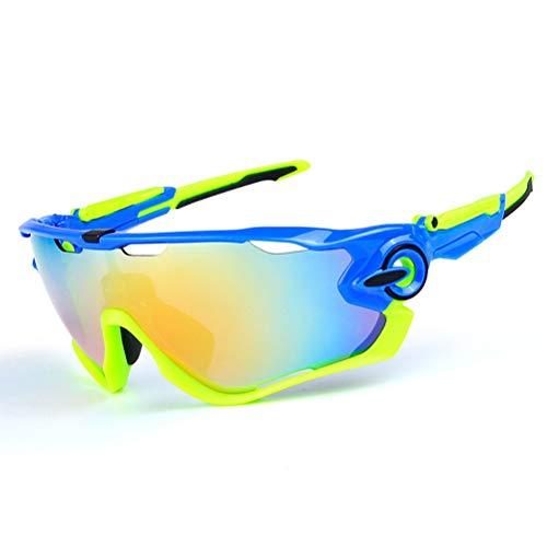 TFXSD M Outdoor-polarisierte Reitglas Sport Männer Und Frauen Myopie Fahrradmode Sport Multifunktionales Sand-Beweis Sonnenbrille,H,001
