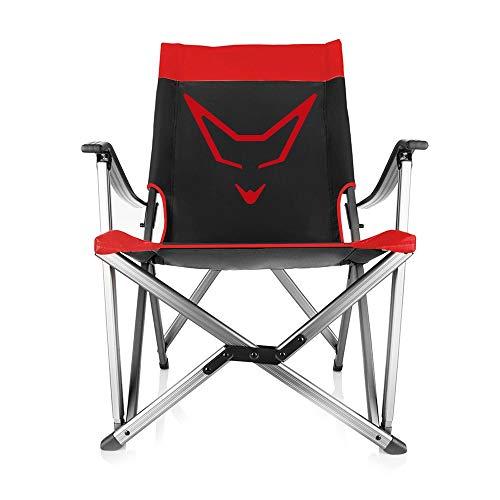 RACEFOXX Outdoor Stuhl schwarz Campingstuhl Klappstuhl Faltstuhl Angelstuhl Anglerstuhl Angeln Stuhl Campingmöbel super stabil
