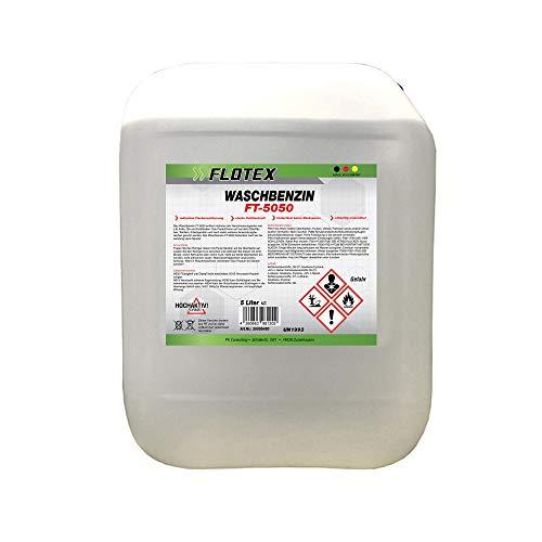 Flotex Waschbenzin, 5L Reinigungsbenzin Textil & Kunststoff, Oberflächen & Arbeitsgeräte