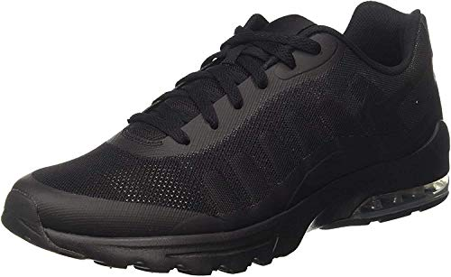Nike Air Max Invigor, Zapatillas Hombre, Negro (Black / Black-Anthracite), 45.5 EU