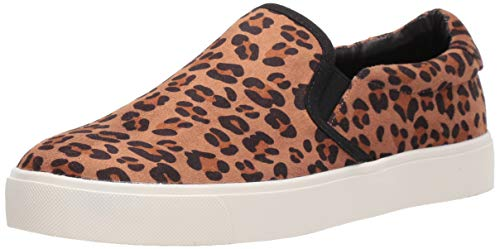 Dirty Laundry by Chinese Laundry Women's Emory Sneaker, Dark tan Cheetah, 11 M US