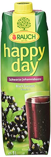 Rauch Happy Day Schw. Johannisbeere, 6er Pack (6 x 1 l)