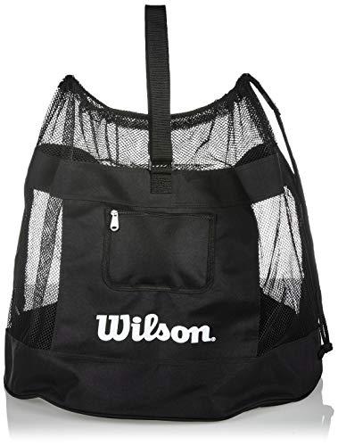 Wilson Unisex-Adult ALL SPORTS BALL BAG Volleyball, BLACK, Uni