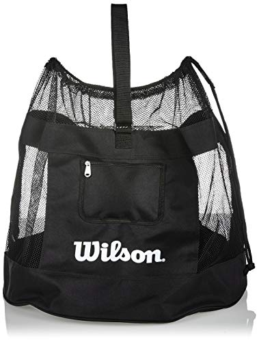 Wilson Unisex-Adult ALL SPORTS BALL BAG Volleyball, BLACK, Uni