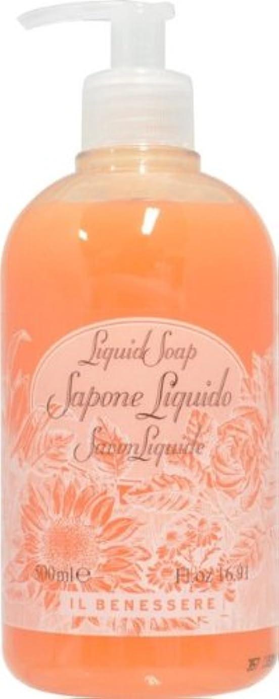 アレンジ効率小競り合いRudy ルディ ILBENESSELE イルベネッセレ リキッドソープ オレンジフラワーズ