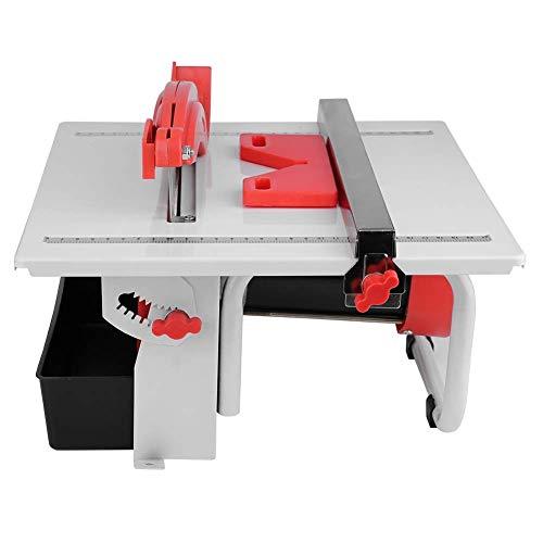 JALAL Cortador de Azulejos eléctrico - Máquina cortadora de Azulejos - con Banco de Trabajo inclinable - Ultrafino - para Azulejos de mármol de Madera de Jade - 600 W 3000 RPM