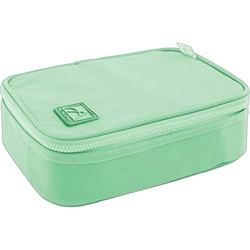Estojo Box Academie Verde Tilibra, Multicor