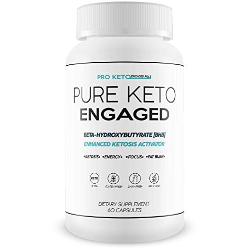 Pure Keto Engaged Weight Loss - Help Accelerate Your Keto Diet with Bhb - Magnesium Bhb Formula for Faster Fat Burn and Longer Ketosis Intervals to Help You Improve Your Keto Diet 1
